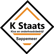 Klus-en onderhoudsbedrijf K Staats Logo